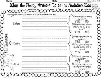 Questioning FREEBIE for What the Sleepy Animals Do in the Audubon Zoo