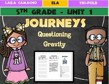 Journeys Grade 5 Trifold (Questioning Gravity)