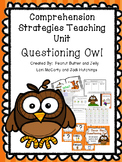 Questioning Owl - Reading Comprehension Strategy Teaching Unit - Beanie Baby