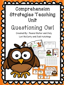 Questioning Owl - Reading Comprehension Strategy Teaching