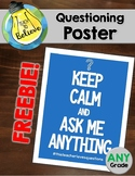 Questioning Poster-Keep Calm!