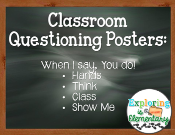 Questioning Posters