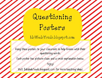 Questioning Posters *FREEBIE*