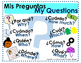 Bilingual Questioning Posters with Visuals-Spanish/English