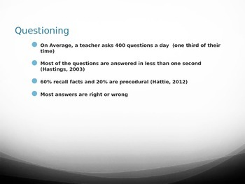 Questioning Powerpoint