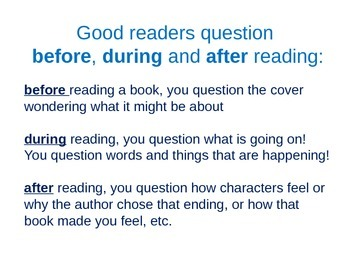 Questioning - Powerpoint on this Reading Comprehension Strategy