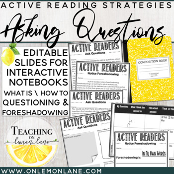 Questioning Reading Skill + Foreshadowing / Guided Reading