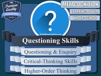 Questioning Skills (Metacognition Resource)