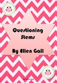 Questioning Stems