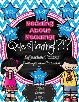 Questioning Strategies {Differentiated Passages & Questions}