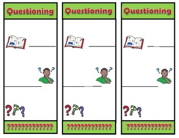 Questioning Strategy Bookmark and Lesson
