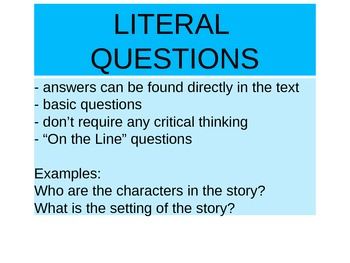 Questioning While Reading