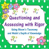 Questioning and Assessing with Rigor, Task Cards