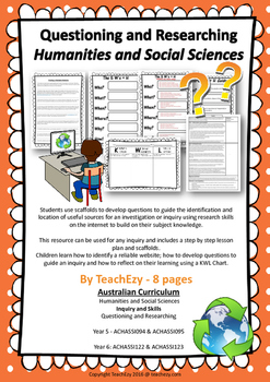 Questioning and Researching Humanities and Social Sciences