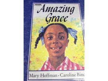 Questioning for Amazing Grace by Mary Hoffman