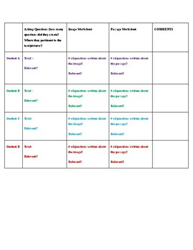 Questioning lesson plan
