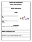 Questionnaire for Student Teachers
