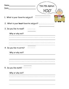 Questionnaire for Students-Get to know you/How do you like