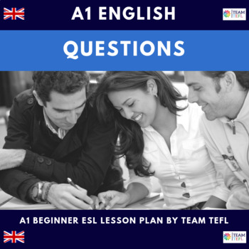 Questions A1 Beginner Lesson Plan For ESL