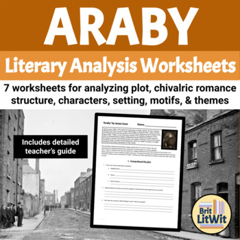 """Questions for """"Araby"""" by James Joyce (with Modernist literature notes)"""