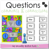 Asking Questions, Making Comments, Making Connections {Differentiated For K-5th}