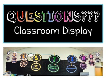 Questions Display Banner