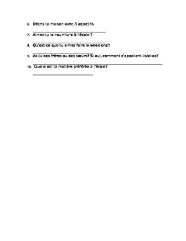 Questions Essentielles partner practice