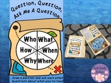 Questions Question Ask Me A Question Reading Comprehension