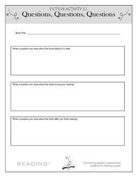 Questions, Questions, Questions – Clarify Through Questioning Activity