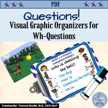 Questions, Questions, Questions: Graphic Organizers for Wh- Questions