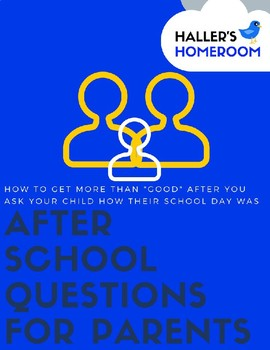 Questions To Ask About Your Student's Day At School
