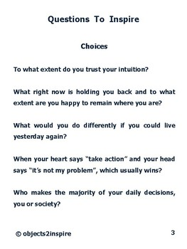 Questions To Inspire: motivational questions to encourage success