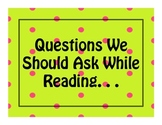 Questions We Should Ask About What We Are Reading
