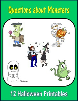 Questions about Monsters (Halloween)
