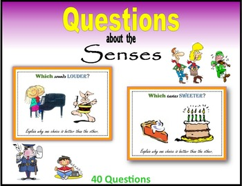 Questions about the Senses (Making Choices)