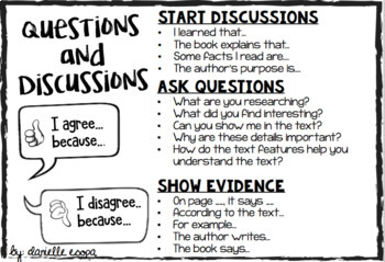 Questions and Discussion Stems