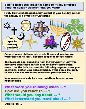 Questions and Stories from Christmas Creche - Point of View