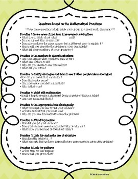 Standards for Mathematical Practice - Discussion prompts