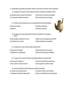 Questions de Film - La Princesse et le Grenouille (Princess and the Frog)