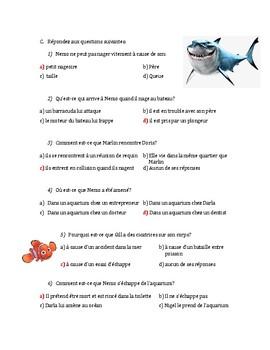 Questions de Film - Trouver Nemo (Finding Nemo)