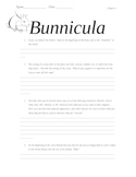 Questions for Bunnicula