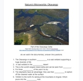 Questions for Documentary Nature's Microworlds: Okavango