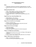 Questions for Foster's How to Read Literature Like a Professor REVISED VERSION