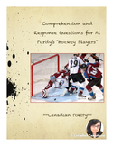 Questions for Hockey Players by Al Purdy