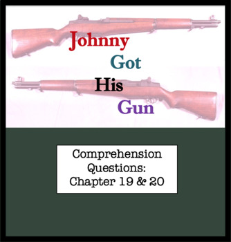 Questions for Johnny Got His Gun by Dalton Trumbo Part Ten ; Chapter 19 & 20