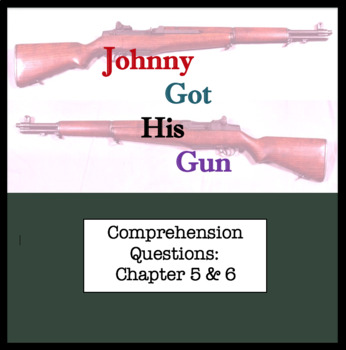 Questions for Johnny Got His Gun by Dalton Trumbo Part Thr