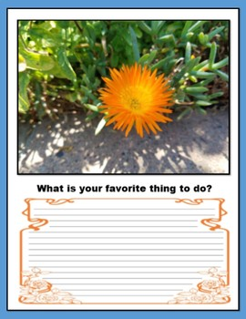 75 Questions for Kids (Back to School Writing)