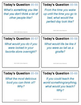 Questions for Kids/Students #5