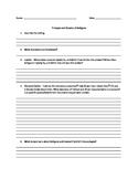 Questions for Prologue of Antigone