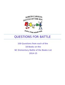 Questions from Every Battle of the Books 2015 Book!